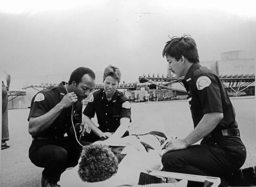 emergency medical technicians  circa 1980