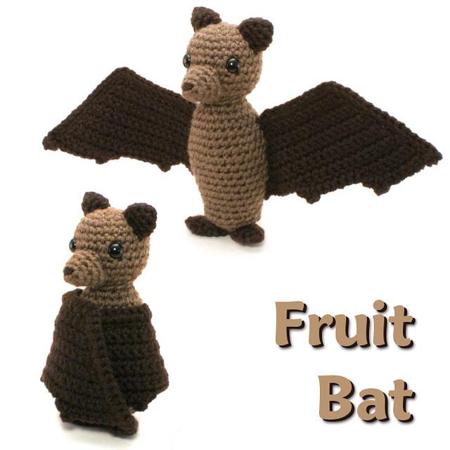 Amigurumi Bat Wings : crocheted fruit bat - a photo on Flickriver