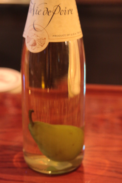 how to clear pear wine