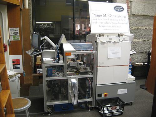 Print-On-Demand Book Printer