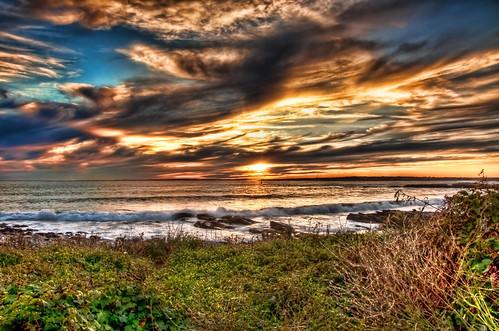 park sunset point island state newport rhode atlanticocean hdr brenton newportrhodeisland narragansettbay brentonpoint nikond90 nikon1685vr topazadjust