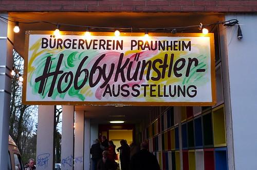 Schild Hobbykünstler Praunheim 2009