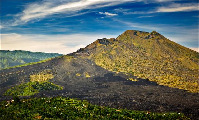 Batur vulkanen på Bali
