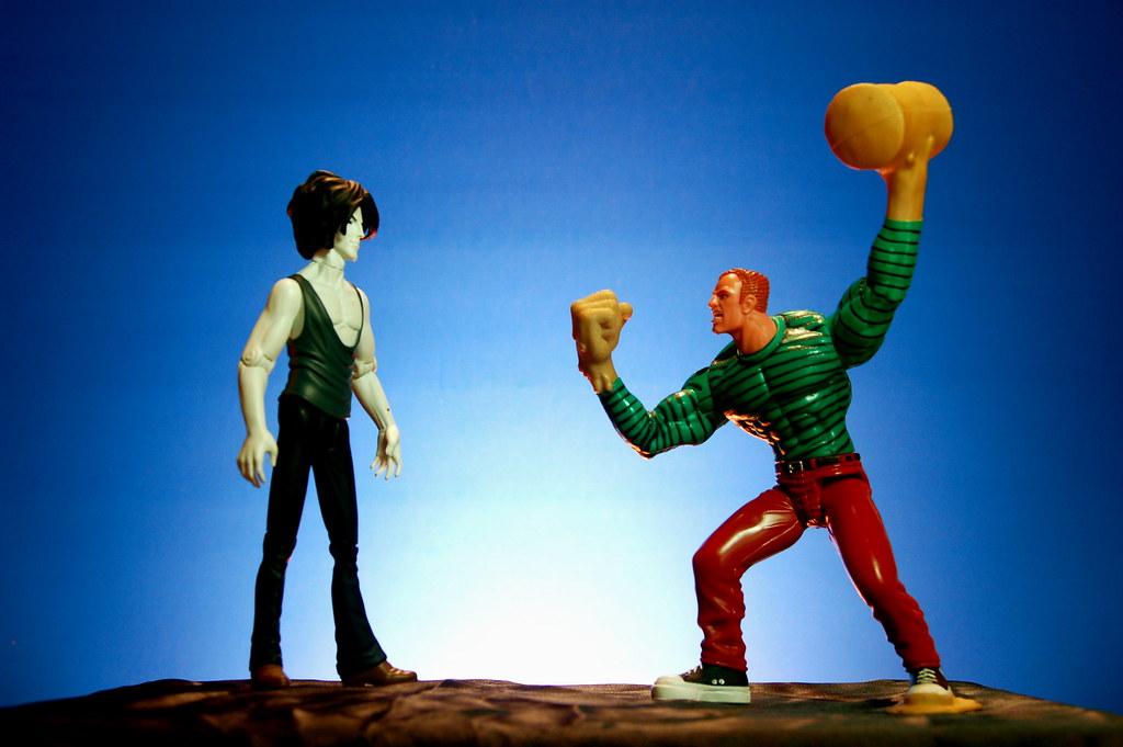 Sandman vs. Sandman (3/365)