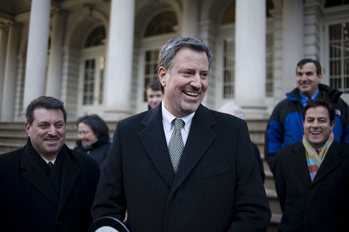 Bill De Blasio Wants to Raise the Minimum Wage