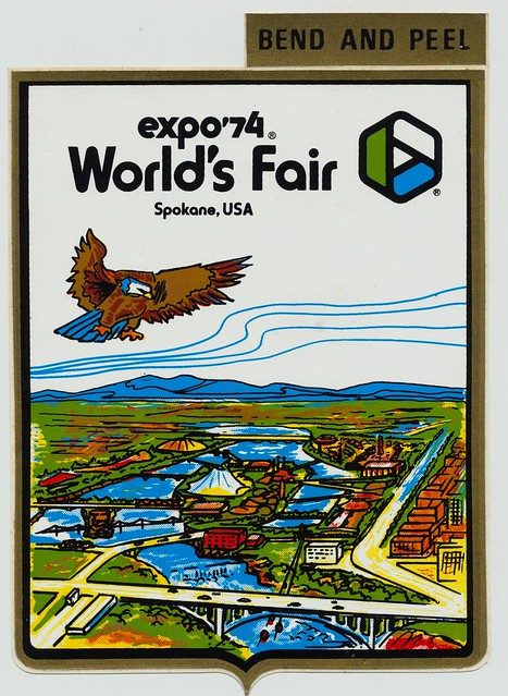 Expo '74 Sticker - Spokane, Washington