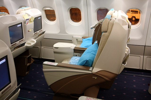 Turkish Airlines Business Class A340 300 Flickr