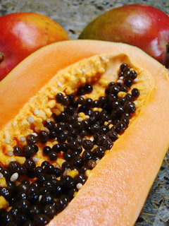 Sweet Papaya and Mangos
