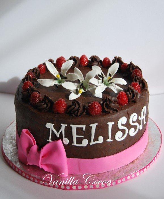 Melissas 30th Birthday Cake A Photo On Flickriver