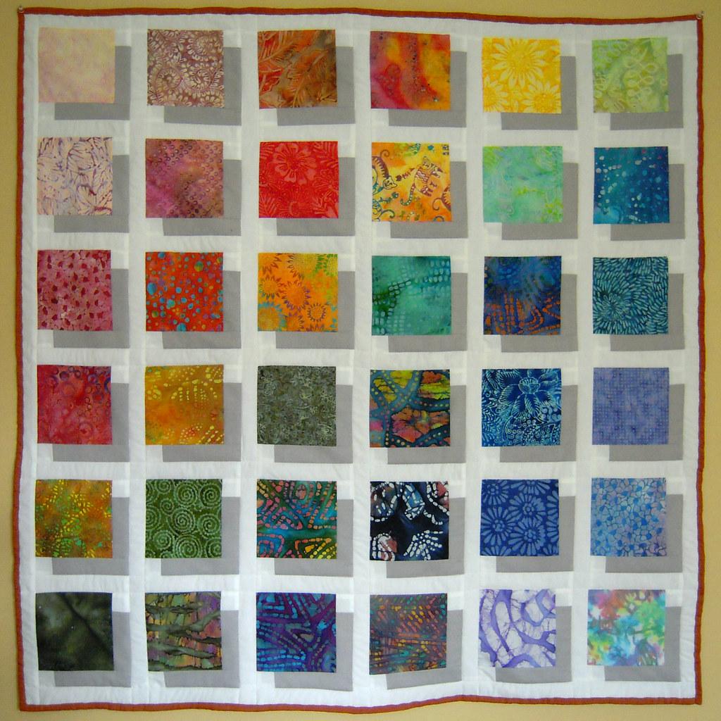Batik Shadow Quilt Saw Quilts By Elena Color Block