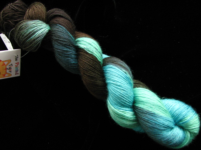 Electric Slide - Bengal Twist Hand Dyed Sock Yarn