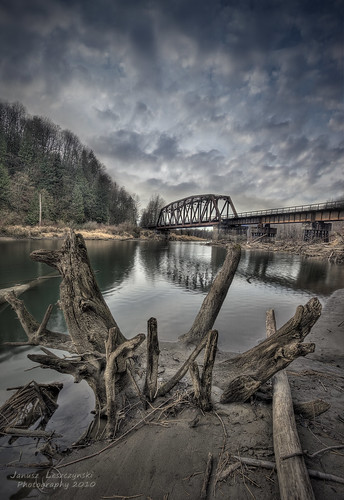 bridge forest river geotagged canal railway driftwood valley fraser googleearth hdr abbotsford chilliwack veder janusz leszczynski silverefexpro geo:lat=49137249 geo:lon=122094841 001127