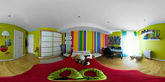 Striped Colour Room