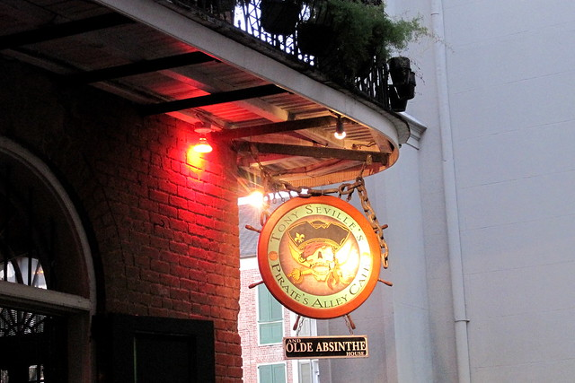 Pirates Alley Cafe New Orleans La