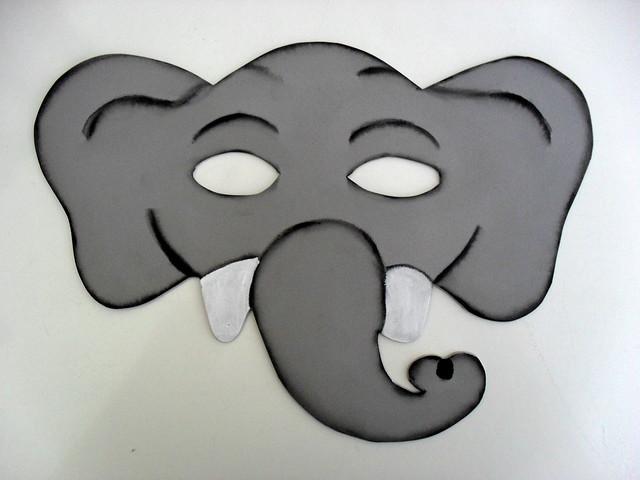 como hacer una mascara de elefante con foami Car Tuning
