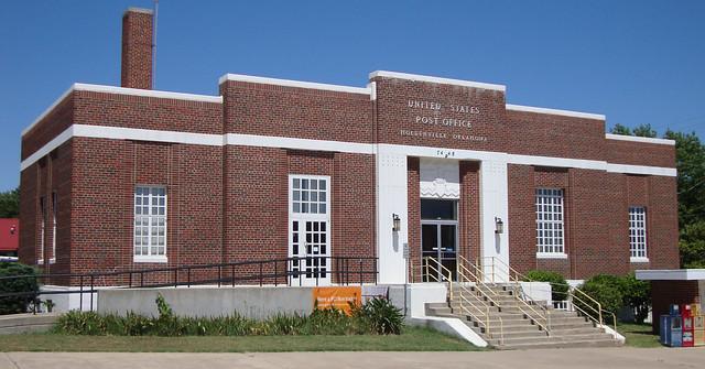 Post Office 74848 (Holdenville, Oklahoma)