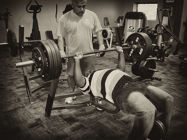 Me Bench Pressing 365 Pounds