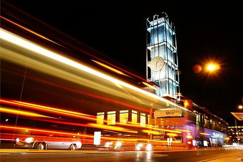 desktop longexposure night speed streak background lighttrails aarhus leadinglines unusualviewsperspectives zoomingbus