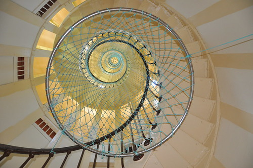 278 Spiralling Step's of the Amedee Lighthouse