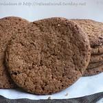 Gewürz-Cookies mit Sirup und Zuckerkruste