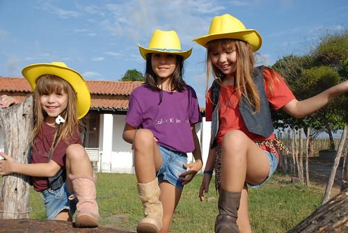 Marina, Larissa e Bianca