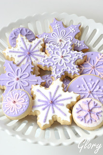 Purple Snowflakes