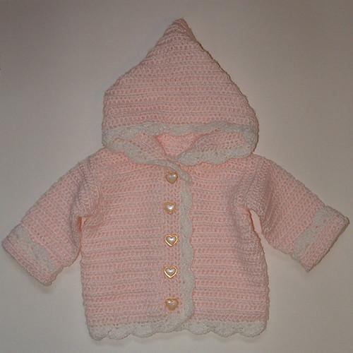 free crochet pattern for baby hoodie
