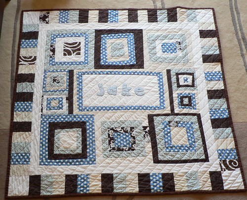 "Jake's ""Milk & Cookies"" Quilt"