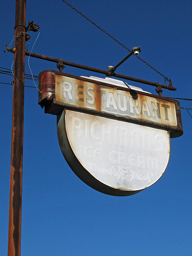 sign rust nj icecream richmans swedesboro gloucestercounty