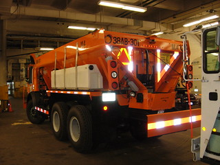 DSNY Mack Snow Plow / Spreader Truck
