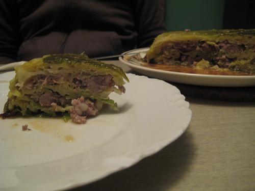 More cabbage cake