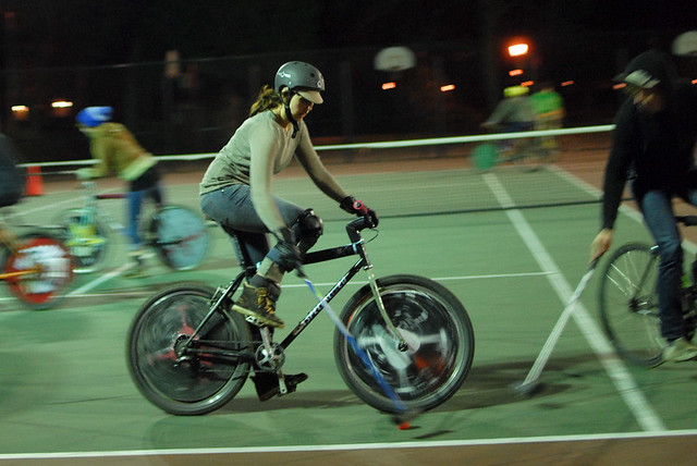 Bike polo at Peninsula Park-10