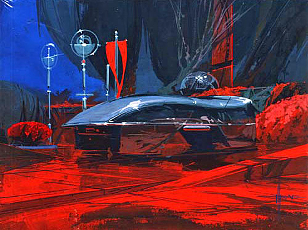Syd Mead S Progressions Lands In Sc This Summer