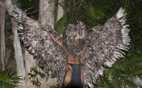 Mayan Bird man 2