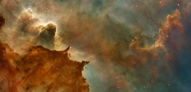 Carina Nebula Detail