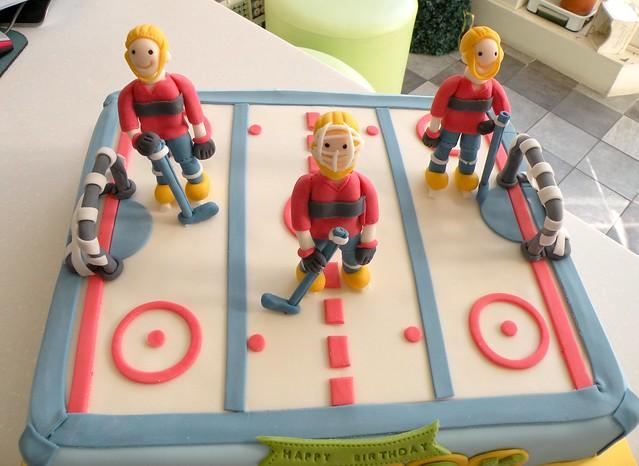 Ice Hockey Cake Decorating Kit