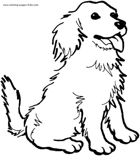 real dogs coloring pages - photo#50