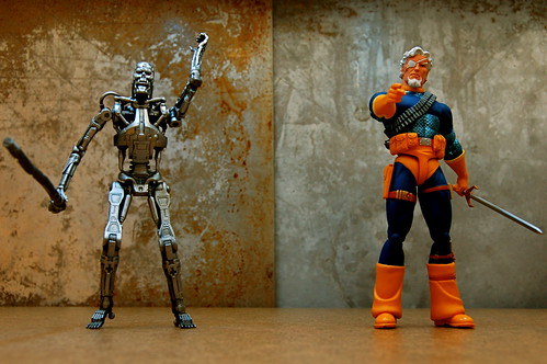Prototype T-800 Terminator vs. Deathstroke the Terminator (97/365)