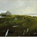 Andrew Wyeth 'Airborne' 1996 Tempera on Panel