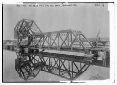 1200 Ton R.R. Bridge over Cape Cod Canal, Buzzard's Bay  (LOC)
