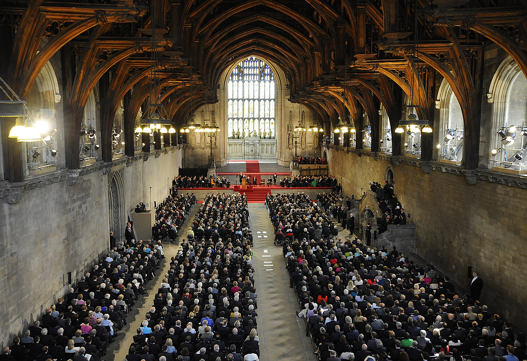 Historic Westminster Hall Built In 1097 Westminster