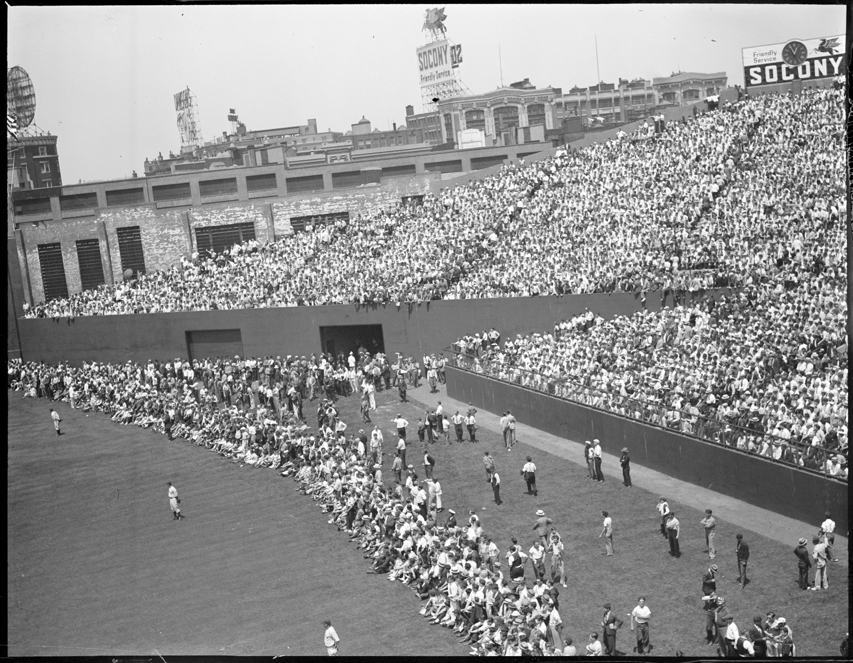 fenway park, boston, baseball, sepia, outfield