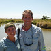 Audrey and Dan at the Hippo Pool - Serengeti, Tanzania