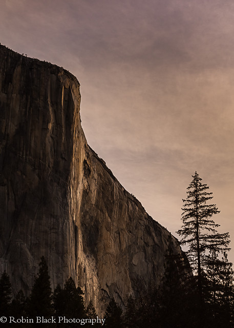 First Light on El Capitan (Yosemite)