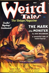 Weird Tales Vol. 29, No. 5 (May, 1937). Cover Art by Margaret Brundage