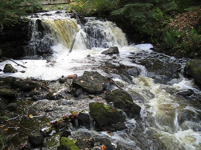 Upper Chapel Falls-Video