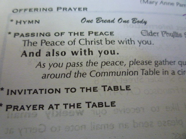 the peace of christ be with you flickr photo sharing