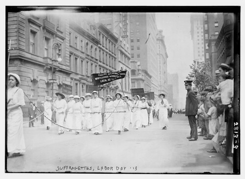 Suffragettes - Labor Day '13  (LOC) by The Library of Congress