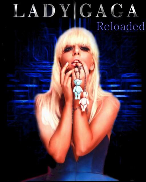 Lady Gaga Reloaded Album Art