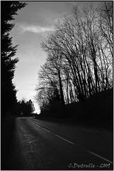 Sur la route de Vauchoux